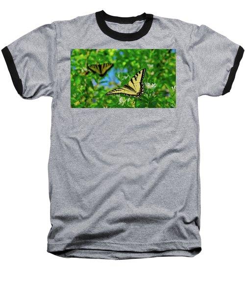 Swallowtails Baseball T-Shirt