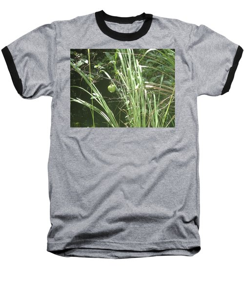 Swamp Apple Baseball T-Shirt