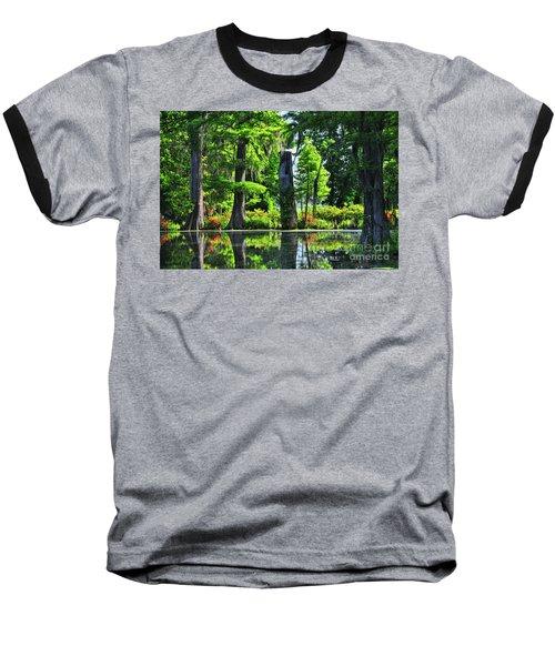 Swamp In Bloom Signed Baseball T-Shirt