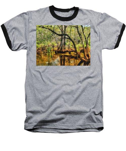 Swamp Life II Baseball T-Shirt