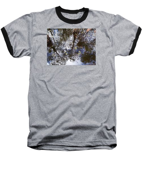 Swamp Mirrored Baseball T-Shirt