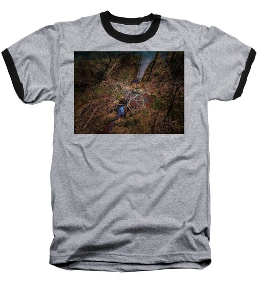 Swamp Tree Baseball T-Shirt