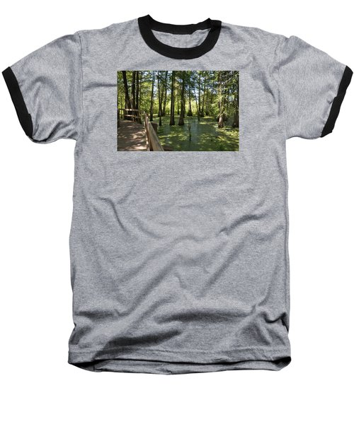 Baseball T-Shirt featuring the photograph Swamps by Helen Haw