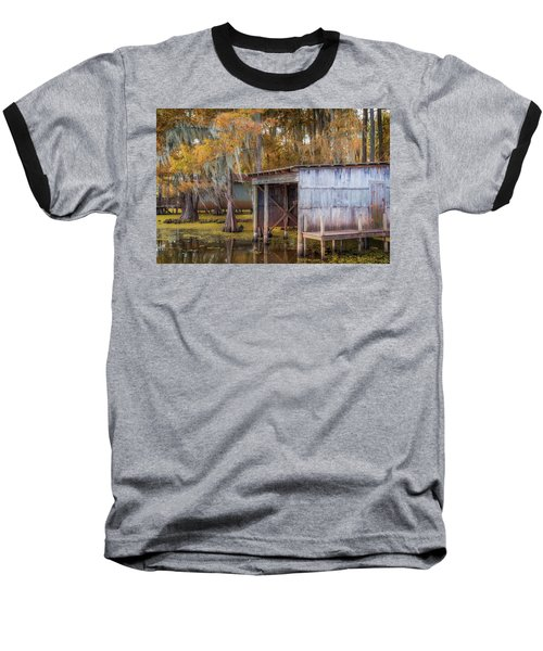 Swampy Dock  Baseball T-Shirt