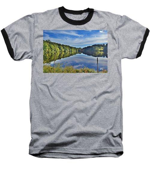 Swan Lake Times Two Baseball T-Shirt
