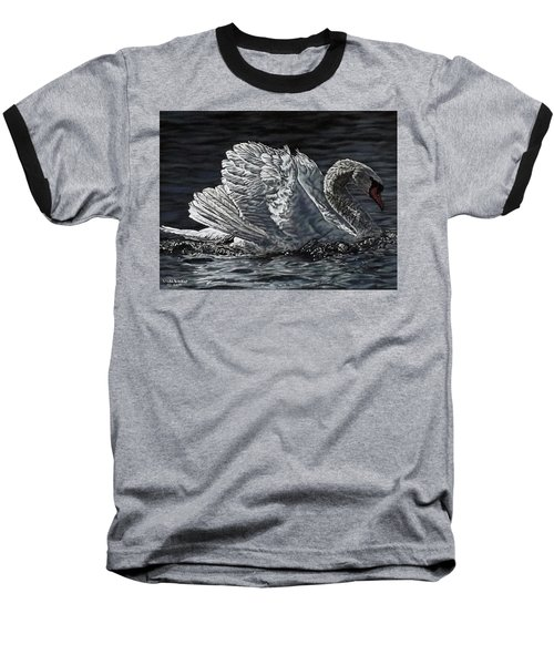 Swan Baseball T-Shirt