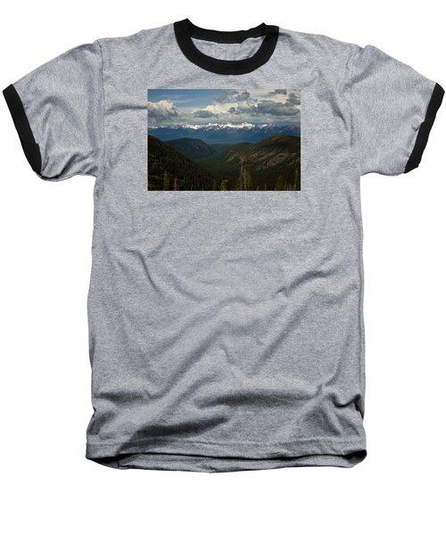 Swan Mountain Range Baseball T-Shirt