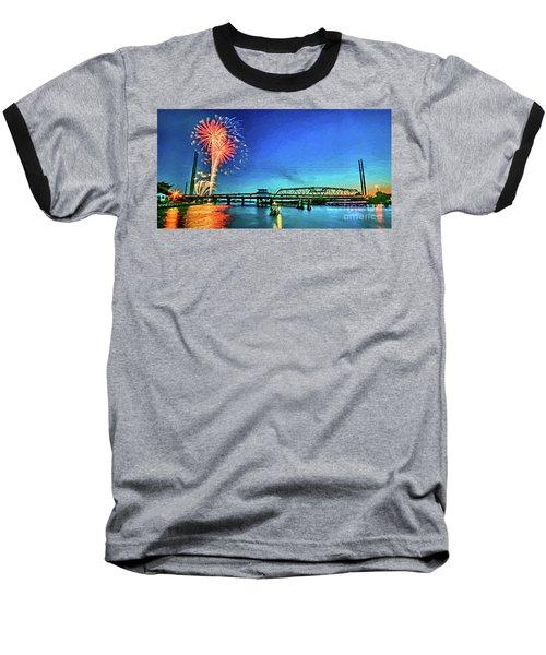 Swan Song Baseball T-Shirt