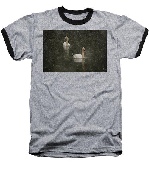 Swan Lake Baseball T-Shirt