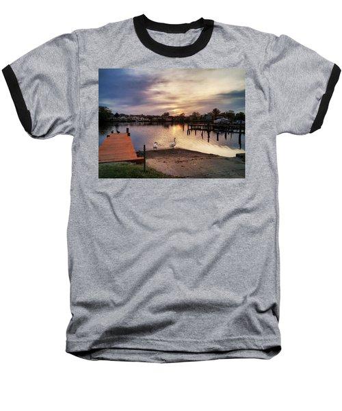 Swans Of Chink Creek Baseball T-Shirt