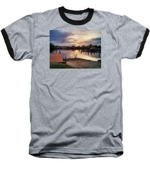 Swans Of Chink Creek Baseball T-Shirt