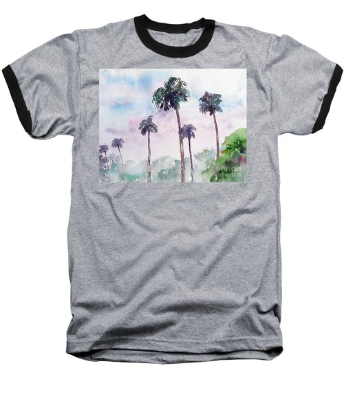 Swaying Palms Baseball T-Shirt
