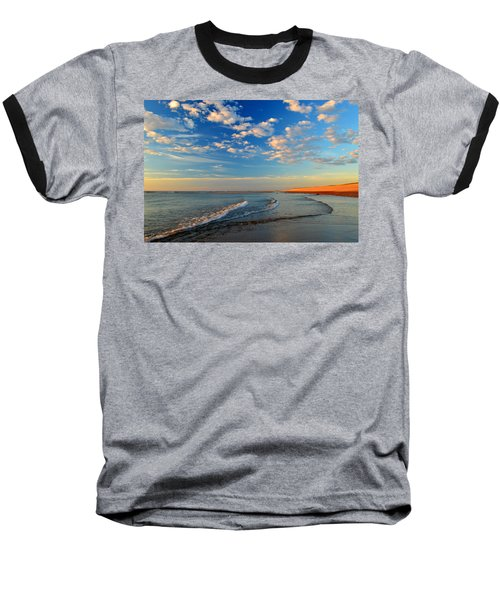 Sweeping Ocean View Baseball T-Shirt