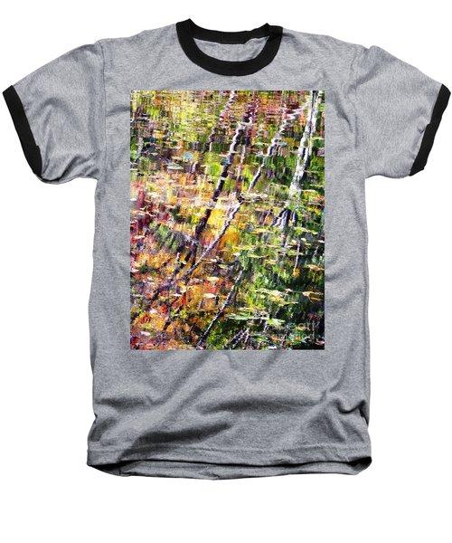 Baseball T-Shirt featuring the photograph Raking Water  by Melissa Stoudt