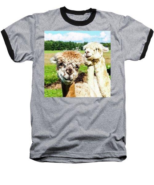 The Soft Joy Of Apacas Baseball T-Shirt