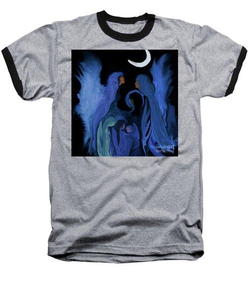 Sweet Angelfamily Baseball T-Shirt by Sherri's Of Palm Springs