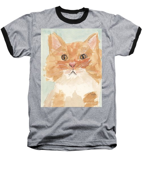 Sweet Attitude Baseball T-Shirt by Terry Taylor