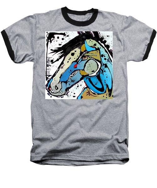 Sweet Blue Baseball T-Shirt