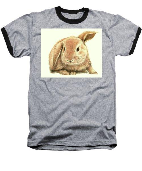 Sweet Bunny Baseball T-Shirt by Heidi Kriel