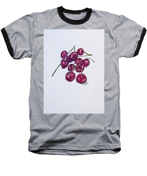 Sweet Cherry Baseball T-Shirt