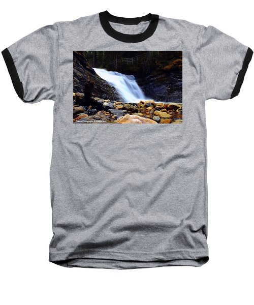 Sweet Creek Falls , Wa Baseball T-Shirt