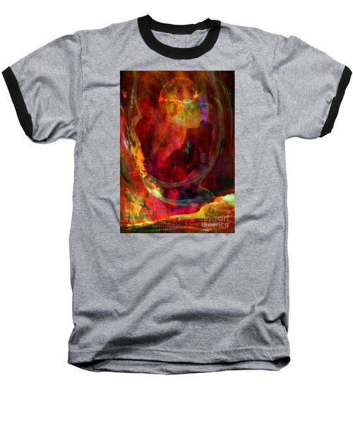 Baseball T-Shirt featuring the digital art Sweet Dream by Johnny Hildingsson
