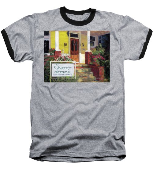 Baseball T-Shirt featuring the painting Sweet Dreams by Julie Maas