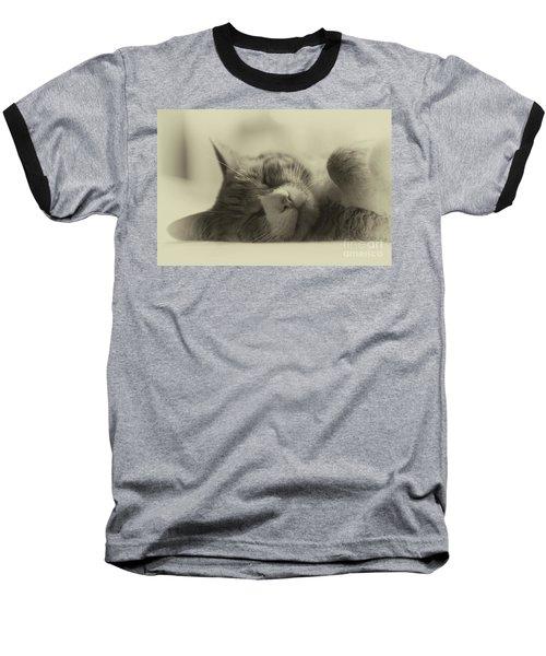 Sweet Dreams Baseball T-Shirt by Nicki McManus