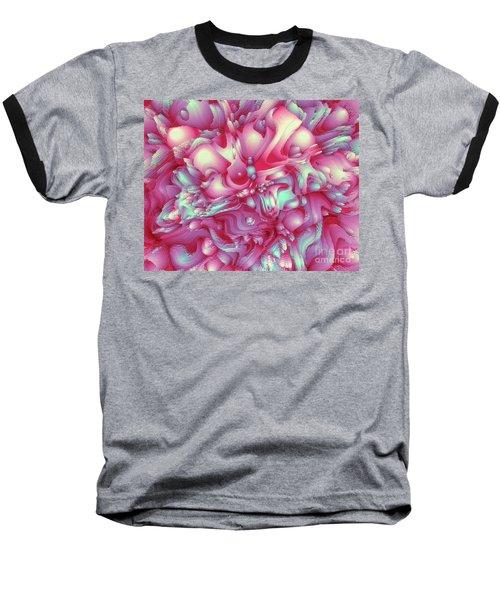 Sweet Flowers 2 Baseball T-Shirt by Moustafa Al Hatter