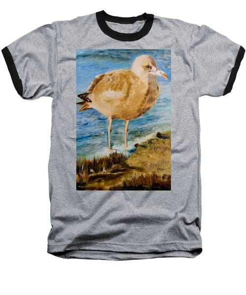 Sweet Gull Chick Baseball T-Shirt