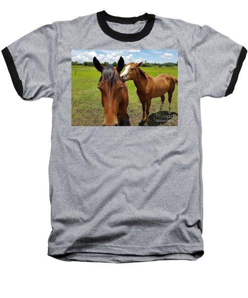 Sweet Horses  Baseball T-Shirt