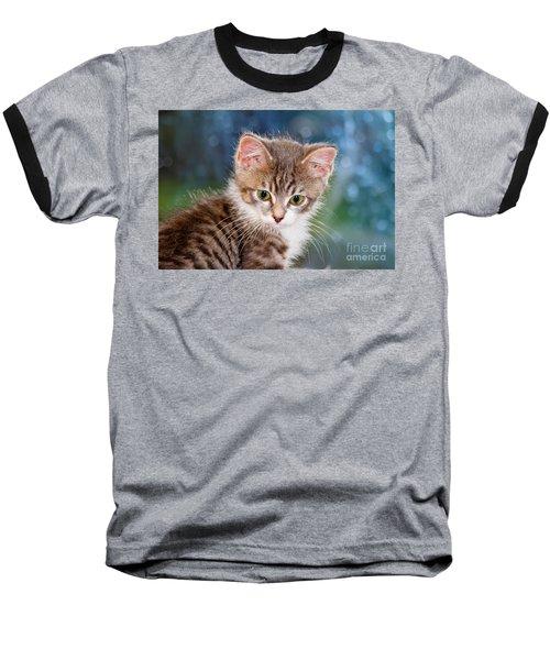 Sweet Kitten Baseball T-Shirt