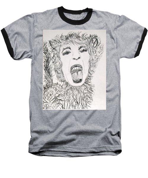 Sweet Kitty Baseball T-Shirt