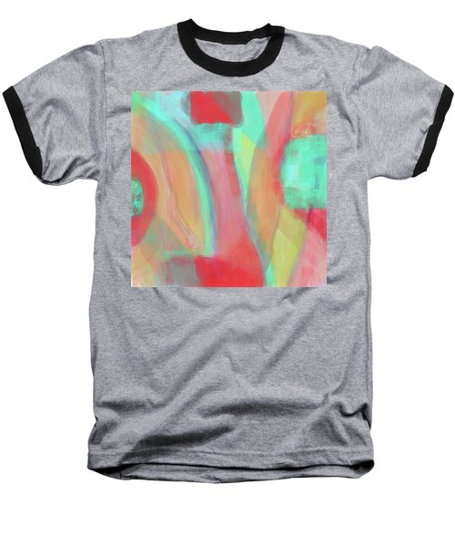 Baseball T-Shirt featuring the digital art Sweet Little Abstract by Susan Stone