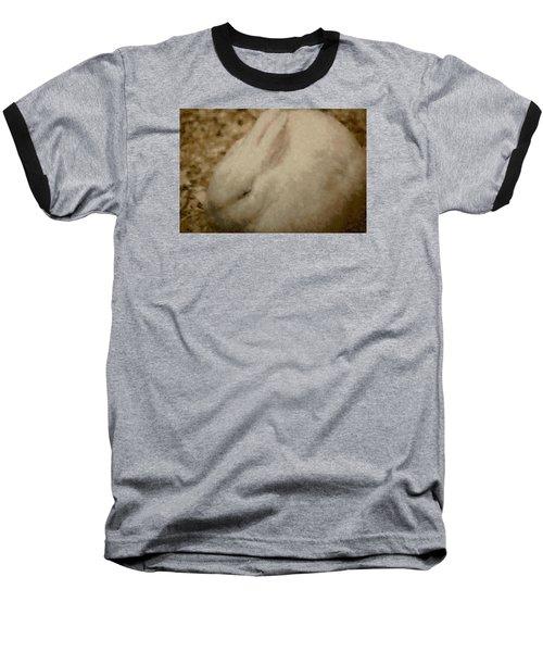 Sweet Marshmallow Baseball T-Shirt by The Art Of Marilyn Ridoutt-Greene