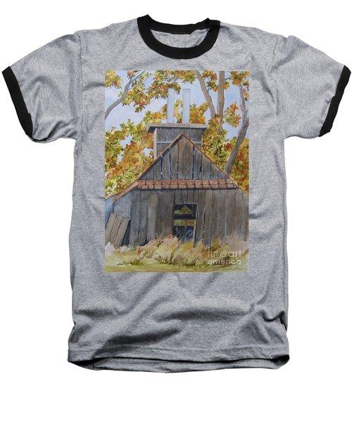 Sweet Old Vermont Baseball T-Shirt by Jackie Mueller-Jones