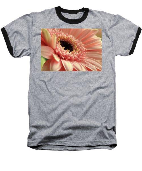 Sweet Peach Gerbera #2 Baseball T-Shirt