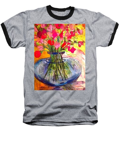 Sweet Peas Baseball T-Shirt
