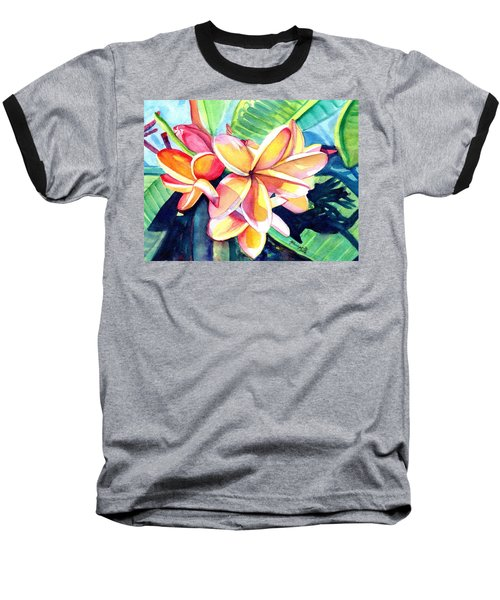 Sweet Plumeria 2 Baseball T-Shirt