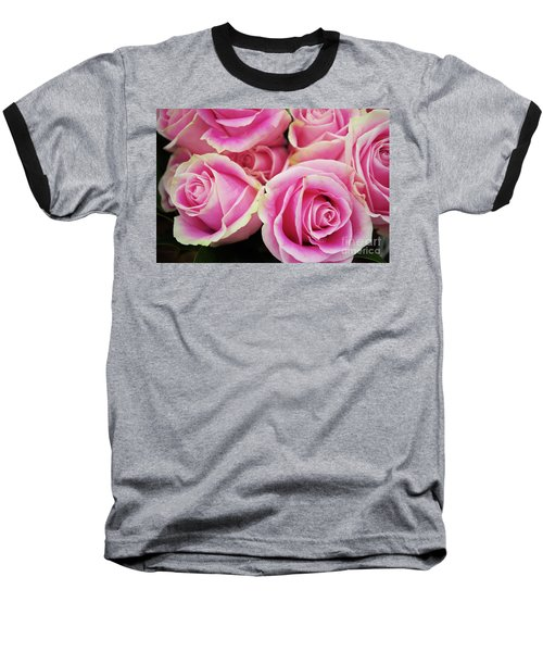 Sweet Rose For All The Lovely Ladies Who Comment On My Work Baseball T-Shirt