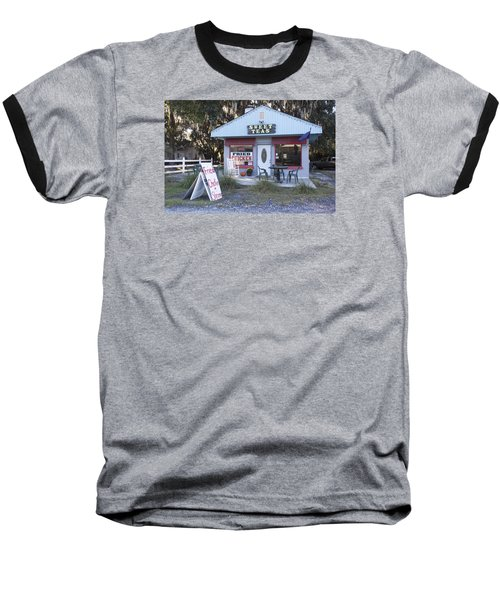 Sweet Teas And Fried Chicken Baseball T-Shirt by Suzanne Gaff