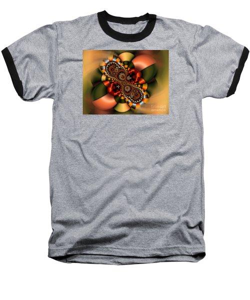 Baseball T-Shirt featuring the digital art Sweets by Karin Kuhlmann