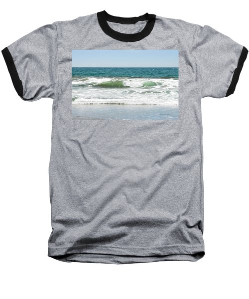 Swell Baseball T-Shirt by Donna Blackhall
