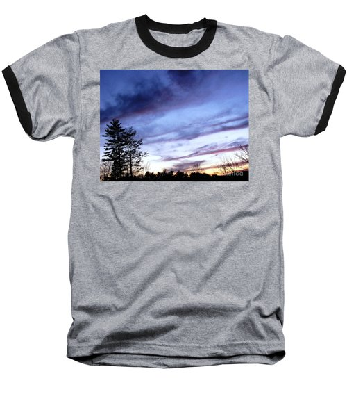 Baseball T-Shirt featuring the photograph Swept Sky by Melissa Stoudt