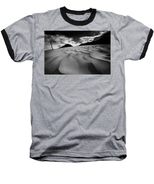 Swerves And Curves In Jasper Baseball T-Shirt by Dan Jurak