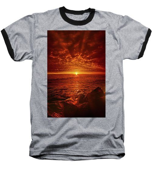 Baseball T-Shirt featuring the photograph Swiftly Flow The Days by Phil Koch