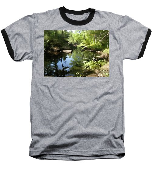 Swimmin' Hole Baseball T-Shirt