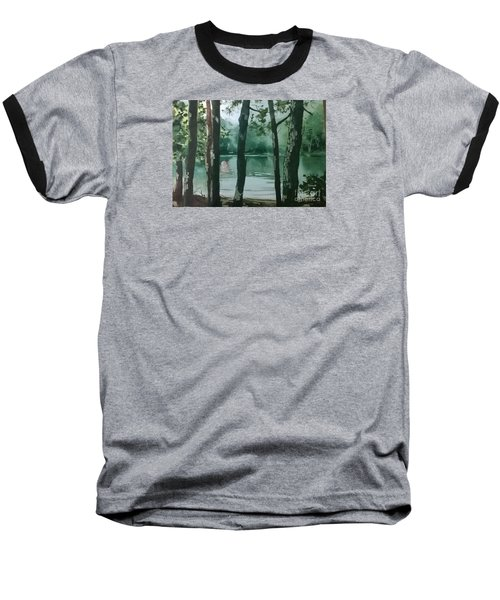 Swimming Hole Baseball T-Shirt