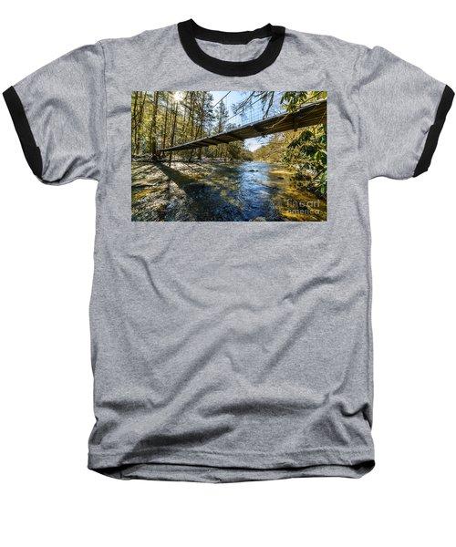 Swinging Bridge Back Fork Of Elk Baseball T-Shirt