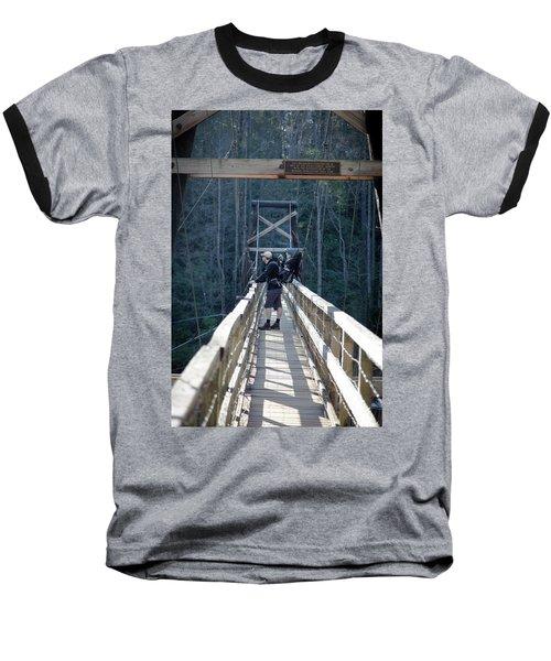 Swinging Bridge Baseball T-Shirt
